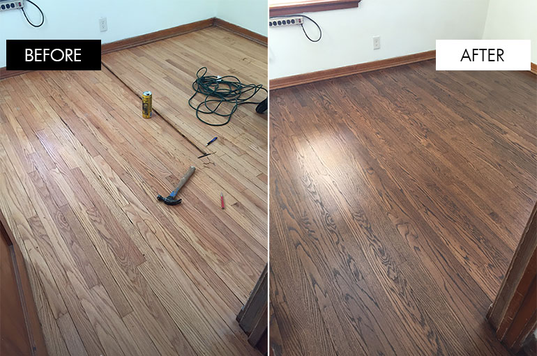 How to fix uneven wood floors floor matttroy for Hardwood floors repair