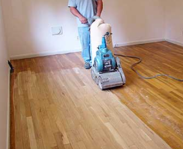 Sanding Wood Floors U201c