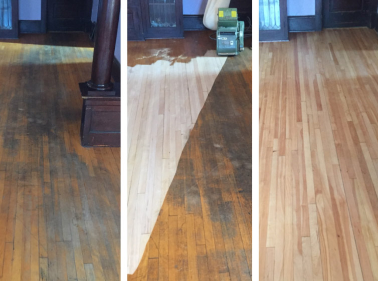 Sanding hardwood floors cheap refinishing hardwood floors for Sanding hardwood floors