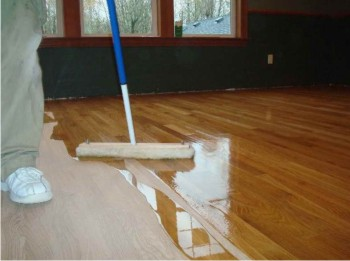 keeping up with maintenance on your hard wood floors