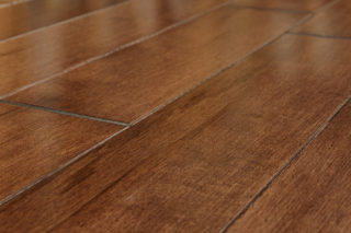 micro-beveled edge floor boards