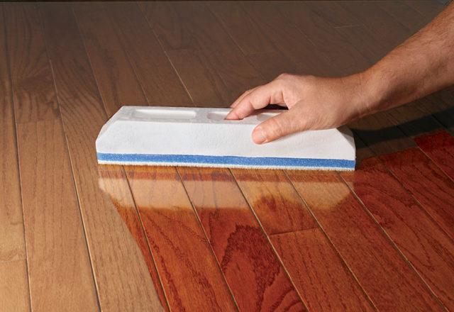 finishing a hard wood floor2