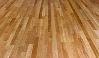 hard wood floor types