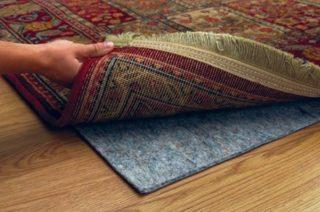 rug and protector pad