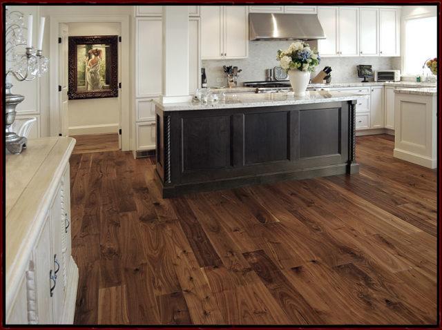American black walnut wood flooring