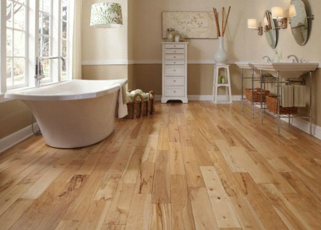 birch wood flooring