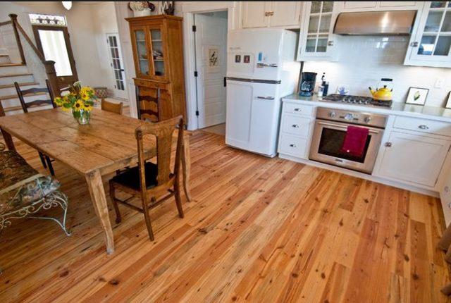 heart pine wood flooring 2