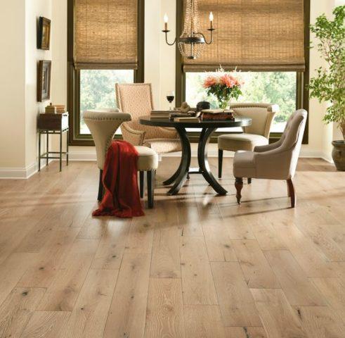 white oak hard wood floors