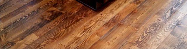 douglas fir wood floor header