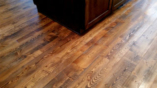 Douglas fir wood floors
