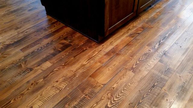 Douglas fir wood floors