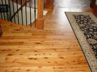 Australian Cypress wood floors