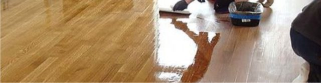 refinishing a beautiful wood floor header
