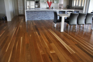 spotted gum kitchen wood floors