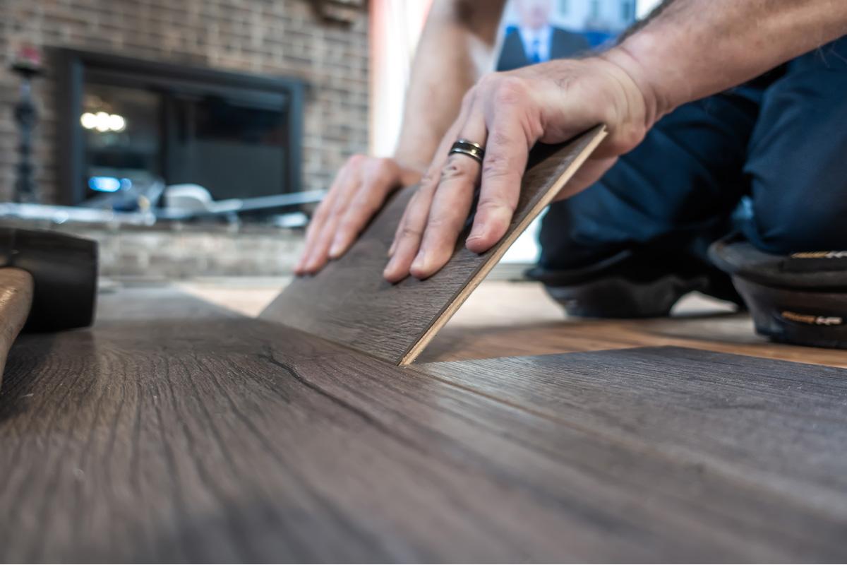 Service | Vinyl Plank Wood Floor Installation - Header